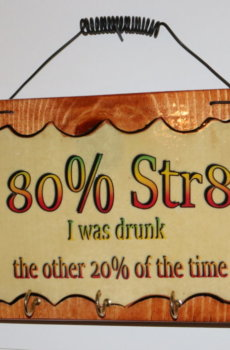 80 percent staight A