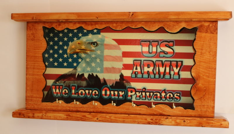 Eagle Flag US Army love our privates A