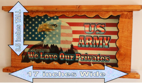 Eagle Flag US Army love our privates B