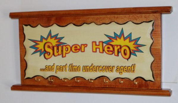 super here under cover agent A