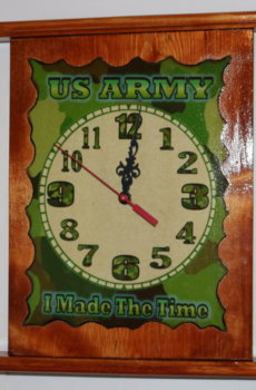 US Army Clock 13x11 A
