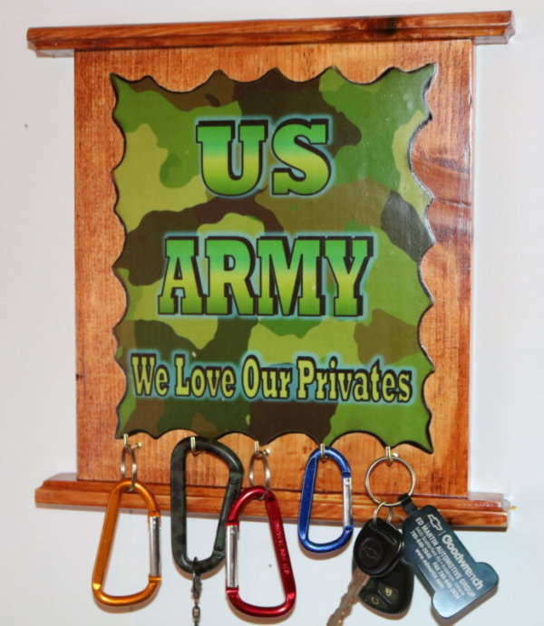 US Army we love our privates 5 key d