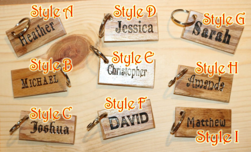 key ring Tag style