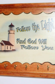 Follow the Light and God will follow you A