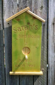 bird house green