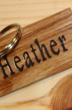 key tag heather