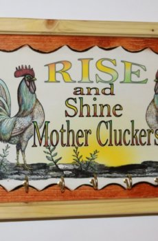 Rooster Mother Cluckers