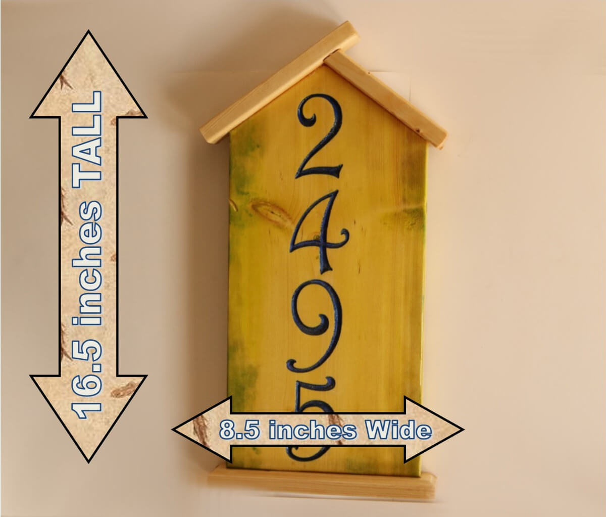 Bird House Address Number dz