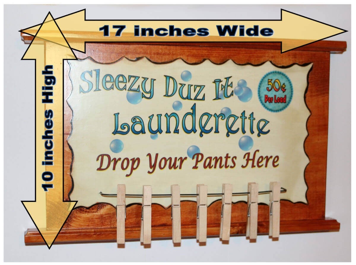 Sleezy Duz It Launderette b