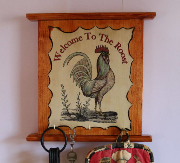 Welcome to my roost b