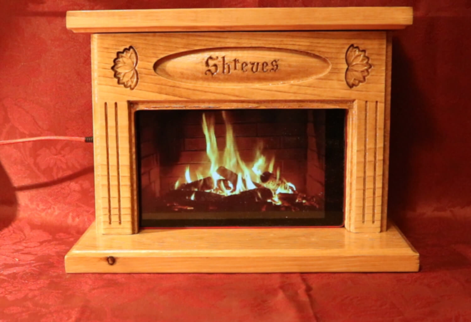 Fireplace for Amazon Alexa HD8 Tablet