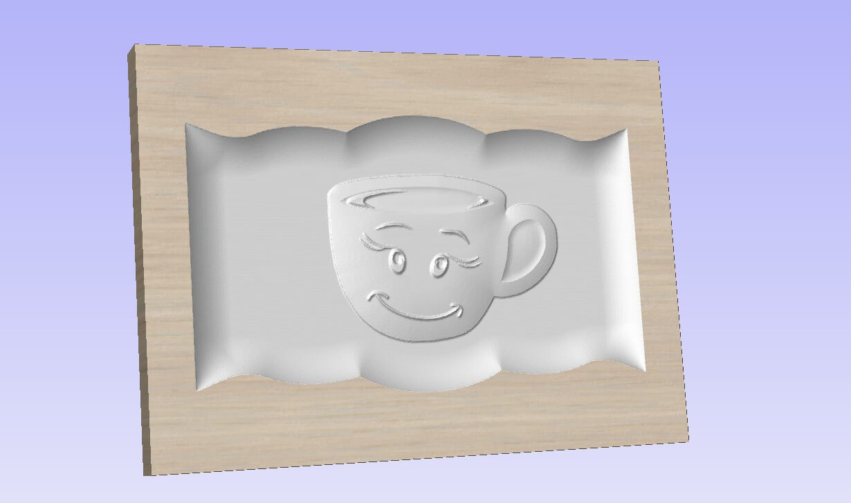 3D Model Kitchen Cup of Coffee