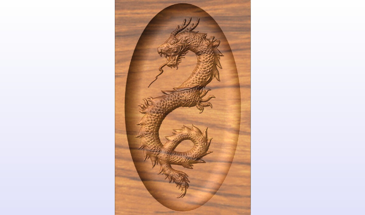 CNC Digital Downloads Jacks Dragon