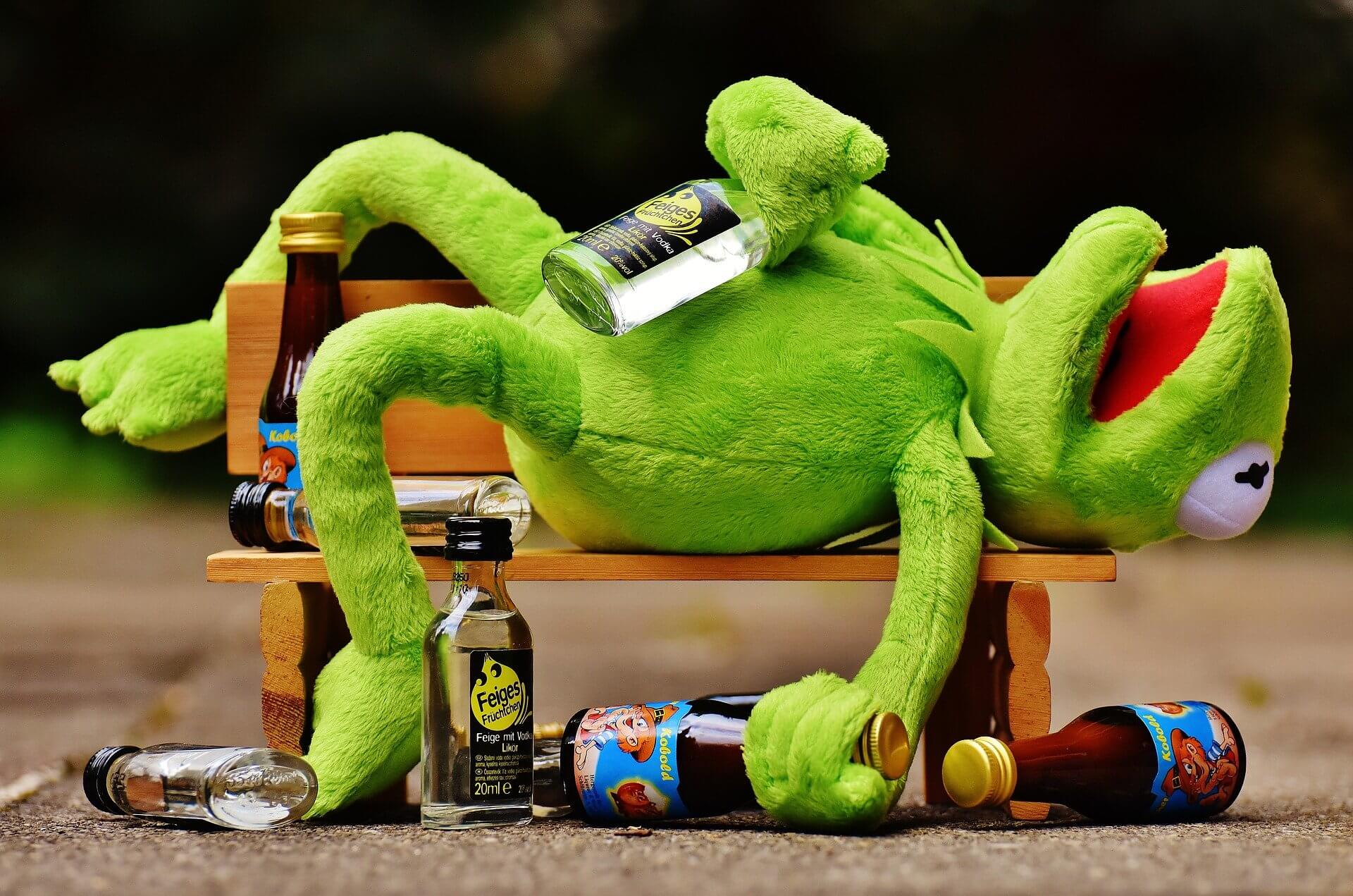 Move over Kermit I Need a Drink
