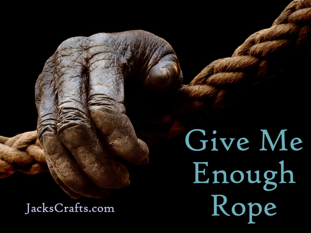 Give me enough rope and I will hang a hedge fund manager up by his heels until he screams SELL SELL SELL at 1000