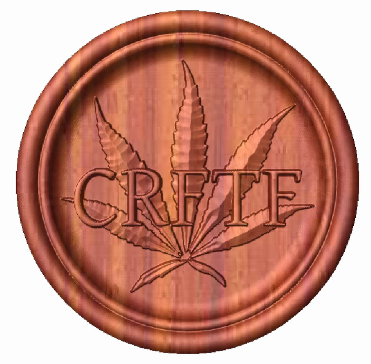 CRFTF cannabis button