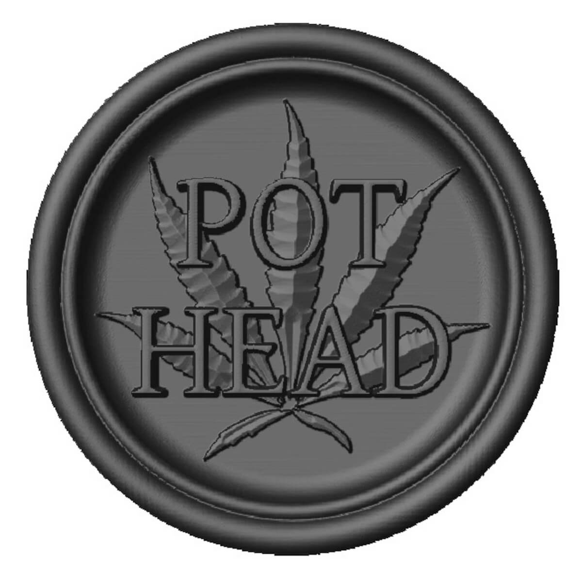 Pot Head Cannabis Token 04